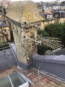 poor aerial installation